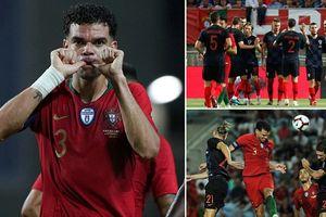 Vắng Ronaldo, Bồ Đào Nha không hạ được Croatia của Luka Modric