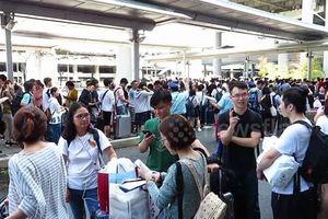 Mắt kẹt vì bão ở Nhật: Du khách Đài Loan muốn sơ tán phải nhận là dân Trung Quốc