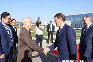 Tổng Bí thư Nguyễn Phú Trọng thăm tỉnh Kaluga của Liên bang Nga