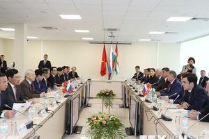 Hình ảnh Tổng Bí thư Nguyễn Phú Trọng thăm tỉnh Kaluga của Nga