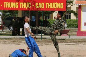 Trên 300 chiến sĩ nâng cao kỹ năng, chiến thuật đặc công