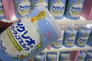 Nhập khẩu sữa từ Nhật Bản tăng mạnh
