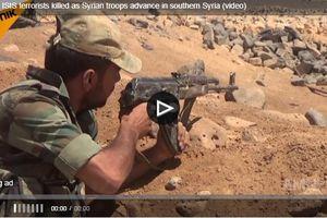 Clip: Quân đội Syria giáng đòn mạnh vào Al-Safa, hơn 40 tên IS bỏ mạng