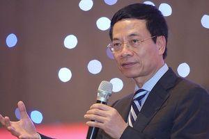 Quyền Bộ trưởng Bộ TT-TT Nguyễn Mạnh Hùng chỉ đạo phát triển hệ sinh thái số Việt Nam
