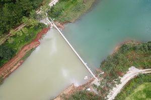 Khu du lịch Quốc gia hồ Tuyền Lâm xuất hiện công trình trái phép dài 30m