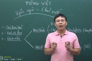 Clip 'thông não' về cách phát âm tiếng Việt hiện đại sau tranh cãi 'C, Q, K' đều phát âm là 'cờ'