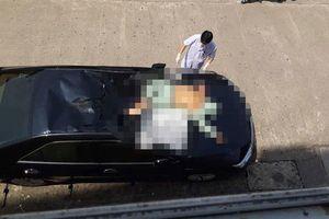 Quảng Ninh: Một bệnh nhân rơi từ tầng 10 bệnh viện xuống nóc xe ô tô