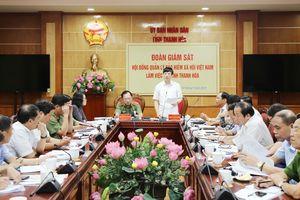 Đoàn giám sát của Hội đồng Quản lý BHXH Việt Nam làm việc tại Thanh Hóa