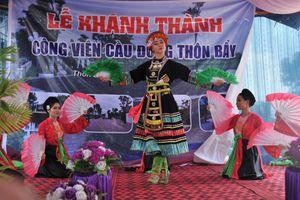 Bắc Giang: Xây dựng Công viên vui chơi giải trí tại cộng đồng dân cư