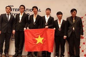 Việt Nam giành HCV cuộc thi Olympic Tin học quốc tế 2018