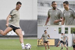 Không lên tuyển Bồ Đào Nha, Ronaldo dốc sức luyện tập ở Juventus