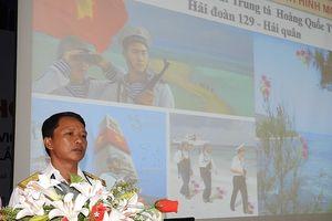 Hải đoàn 129 tuyên truyền về biển, đảo