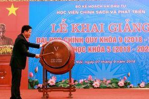 Học viện Chính sách và Phát triển tổ chức lễ khai giảng năm học mới