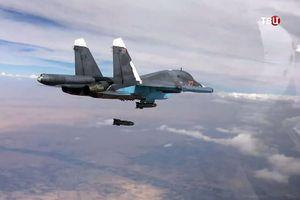Không quân Nga dội bão lửa nghiền nát mục tiêu của phiến quân Syria