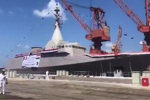 Ai Cập hạ thủy tàu chiến mới tự sản xuất