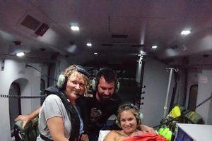 Em bé chào đời trên trực thăng ở độ cao 426 m