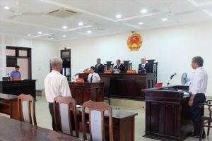 Bác đơn của một Cty luật kiện Chánh Thanh tra Sở Tư pháp Đà Nẵng