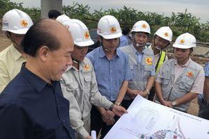 Bộ GTVT chốt tiến độ nút giao Tân Vũ, gỡ khó cho nhà thầu