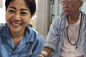 Cát Phượng thông báo tin vui về sức khỏe của Mai Phương, Lê Bình