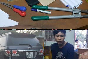 Tóm gọn băng đi ô tô gây ra hàng trăm vụ trộm cắp tài sản