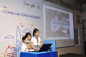 'Lập trình tương lai cùng Google' với học sinh tiểu học