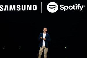 Samsung và Spotify hợp tác 'chống' lại Apple
