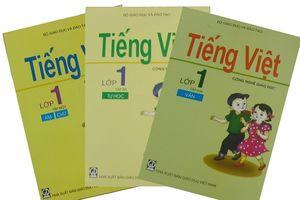 Bộ GDĐT lên tiếng về việc triển khai tài liệu Tiếng Việt lớp 1 Công nghệ Giáo dục