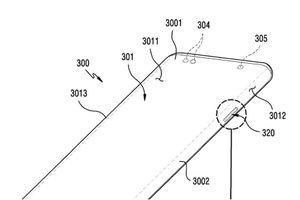 Samsung đăng kí bản quyền màn hình có điểm cắt để đặt phím bấm