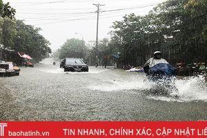 Cuối tuần, Hà Tĩnh xuất hiện đợt mưa lớn diện rộng