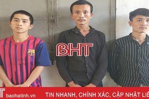 Nhóm 'đạo chích' chuyên nghiệp từ Quảng Bình ra Hà Tĩnh thực hiện 30 vụ trộm