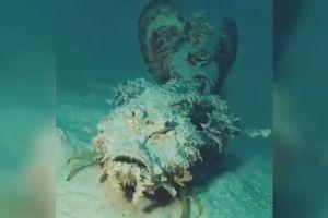 Rùng mình trước hình thù kỳ dị của loài cá đi bộ dưới đại dương