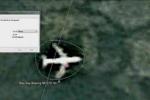Thông tin tìm thấy dấu vết máy bay MH370 là không có cơ sở