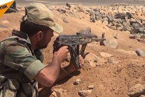 Quân xung kích Syria ác chiến diệt 40 tay súng IS trong tử địa Sweida