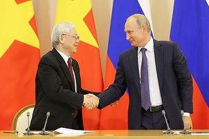 Việt Nam - Liên bang Nga: Củng cố quan hệ Đối tác chiến lược toàn diện
