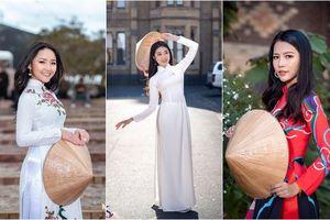 Dàn nữ sinh dự cuộc thi Hoa khôi tại Úc: Con gái Việt chỉ cần diện combo 'áo dài + xõa tóc' là 'auto xinh'