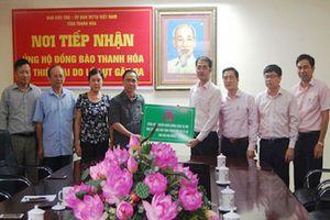 Ngân hàng Chính sách xã hội ủng hộ 500 triệu đồng cho bà con vùng lũ tỉnh Thanh Hóa
