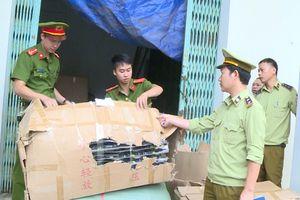 Thu giữ hơn 2.000 khẩu súng đồ chơi ở Thanh Hóa