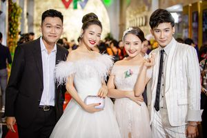 Bảo Thanh và Nhã Phương đọ nhan sắc rực rỡ khi cùng diện đầm trắng
