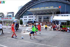 Khai mạc Giải Bóng Đá Đường Phố SCG Street Football 2018 tại TPHCM