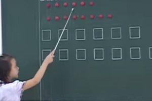 Thứ trưởng Bộ GD&ĐT giải thích vì sao có ô vuông, tam giác khi đọc thơ