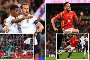 Tây Ban Nha đánh bại Anh 2-1 ngay tại Wembley