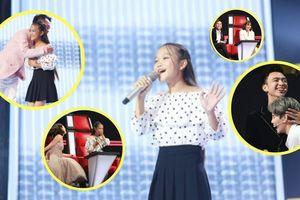 Điều ít biết về cô bé xứ Nghệ hát tiếng Anh khiến 6 HLV 'The Voice Kids' tan chảy