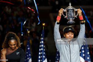 Hạ Serena, tay vợt Nhật Bản Osaka làm nên lịch sử tại chung kết Mỹ mở rộng