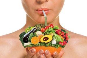 Những thực phẩm giúp giải độc gan hiệu quả