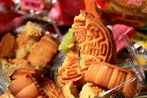 Bánh Trung thu nhập từ Trung Quốc không giấy tờ