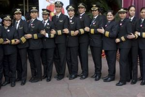 Nước nào có nữ phi công nhiều nhất thế giới?
