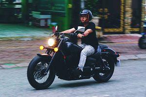 Cận cảnh Honda Shadow 750 giá 460 triệu ở Sài Gòn
