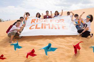 Thanh Bùi cùng các nghệ sĩ trẻ 'Đứng lên vì khí hậu'