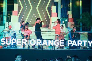 Erik, Min khuấy động đại tiệc Orange party của Shopee