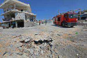 Không quân Nga và Syria liên tiếp trút mưa bom xuống Idlib